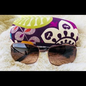 b5d20a740cd Vera Bradley Plum Crazy Sunglasses